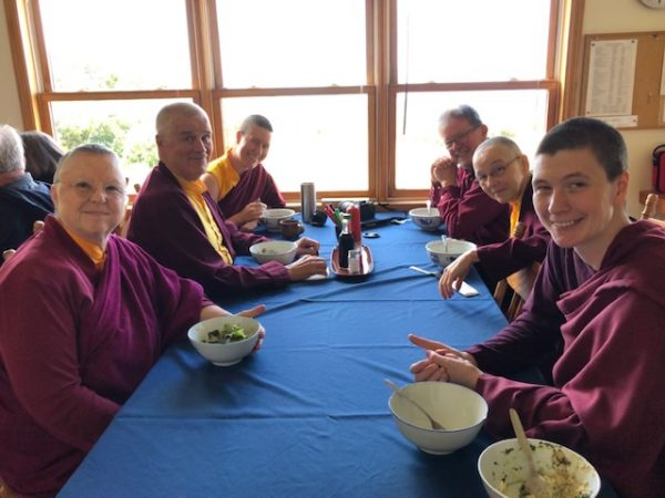 Lunch at Gampo Abbey