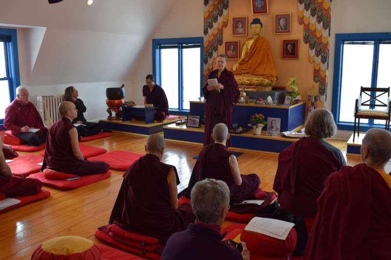 2016 Gagye Eve Talks Ani Pema Chodron