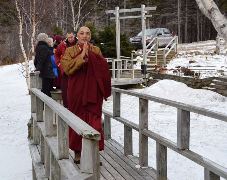 Khenpo Gawang Arrives